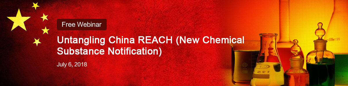 Free,Webinar,China,REACH,New,Chemical,Notification