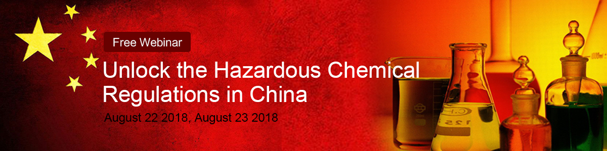 Hazardous,Chemical,Regulation,China,Webinar