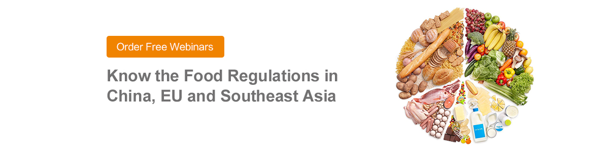 Food,Regulations,Free,Webinar,China,EU,Southeast Asia