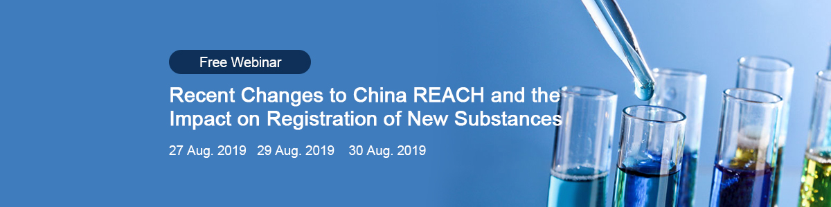 China,Chemical,China,REACH,Substance,Registration,Webinar