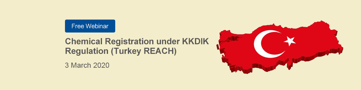 Chemical,KKDIK,Webinar,Free,Turkey,REACH,Registration