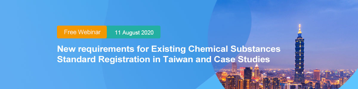 Taiwan,Chemical,Registration,Existing,Substance,Standard,Free